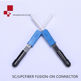 FIBER FUSION SPLICE-ON CONNECTOR SC/UPC